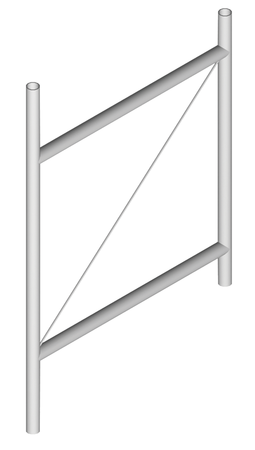 Single Antenna Stand-Off Mount