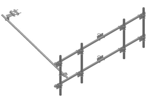 Pipe Antenna Frame