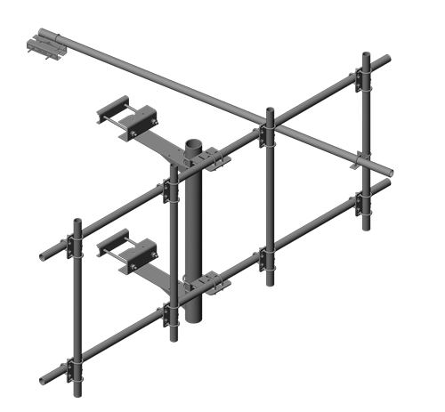 Universal Sector Antenna Frame