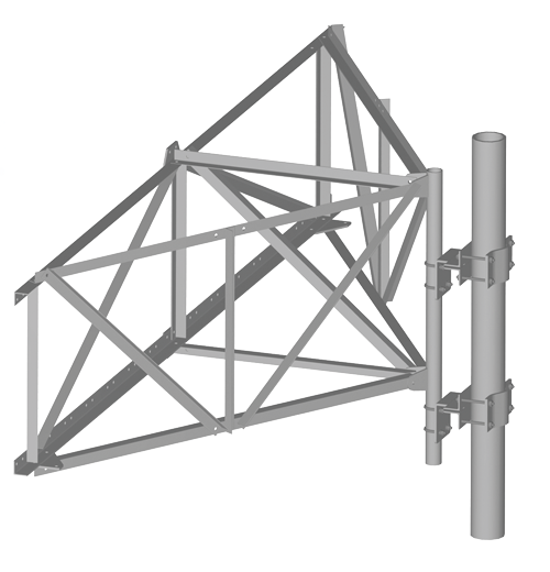 Wireless Antenna Frame