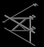 Light Duty Stand-Off  Antenna Frame