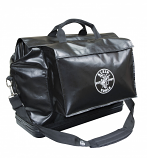 KLEIN X-LARGE BLACK VINYL EQUIPMENT BAG W/ POCKETS