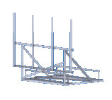 Roof-Top Non Penetrating Antenna Frame