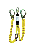 Elk River 6' Flex-Zorber Twin Leg Energy Absorbing Lanyard