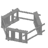 Light Weight Ring Mount 3-Sector