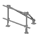 Pipe Sector Frame