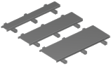 Roof-Top Coax Support Kit