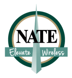 NATE Elevate Wireless Logo